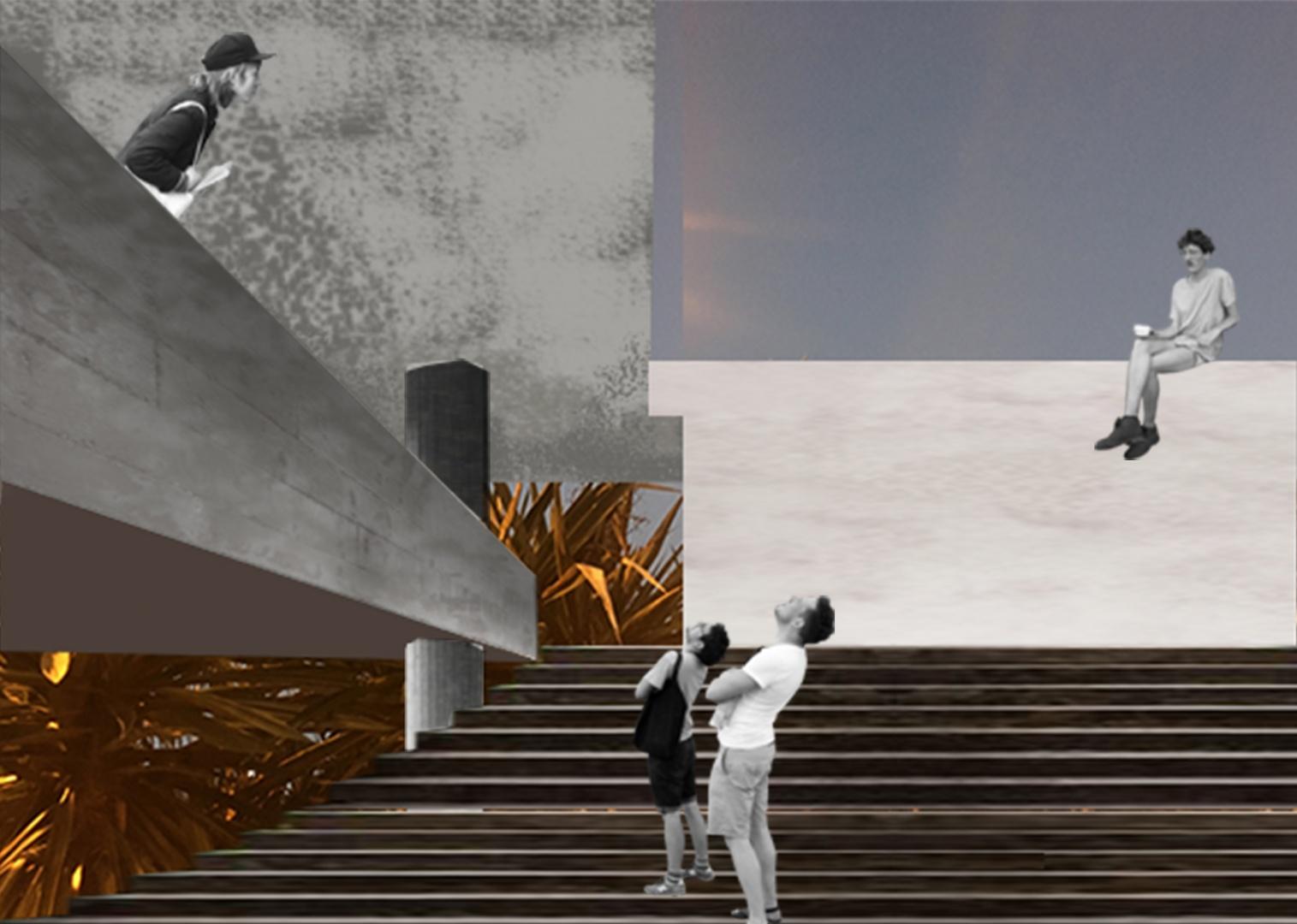 Entwurfscollage 2 © Sascha Dändliker & Francesca Thaler