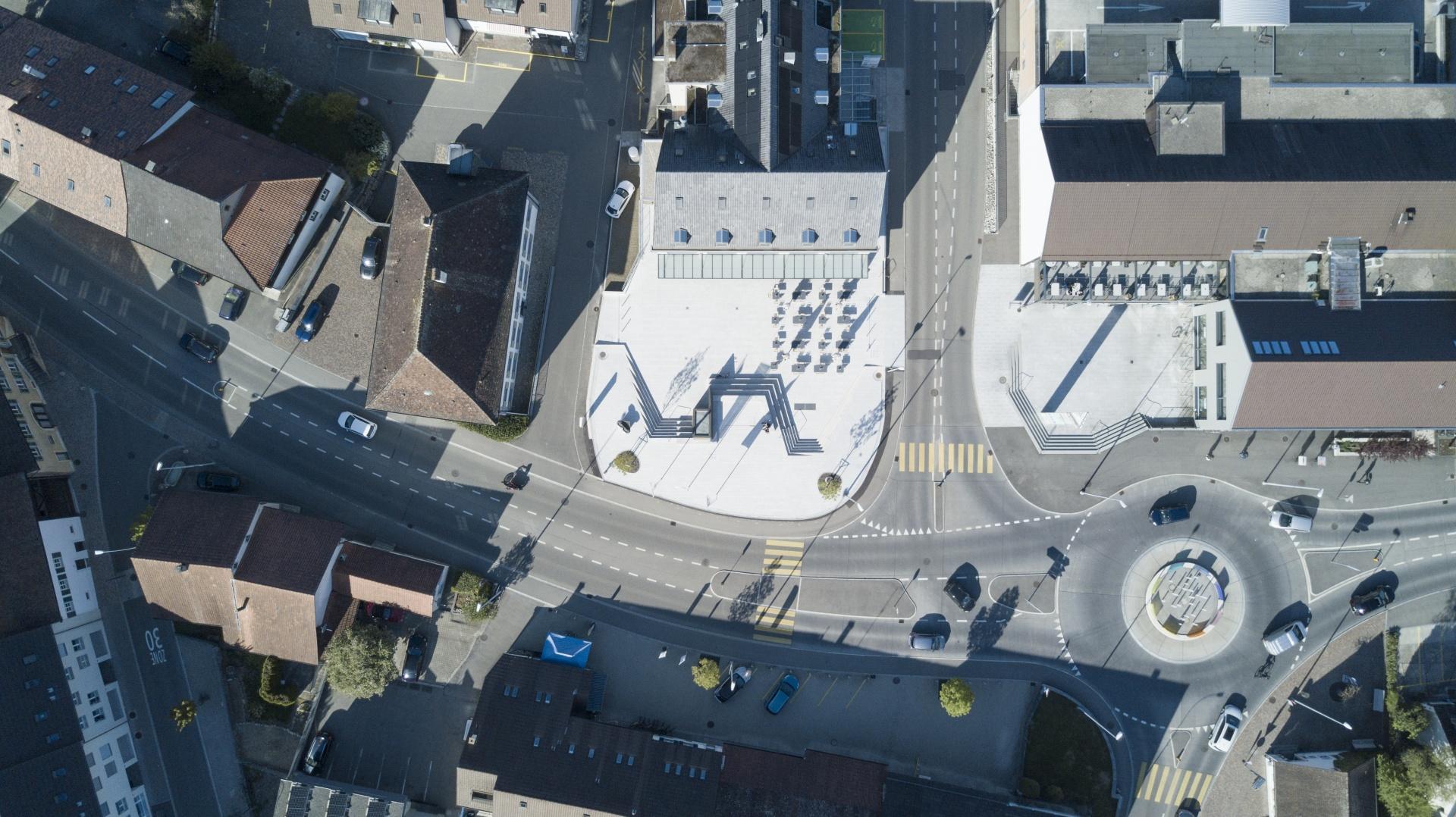 Luftaufnahme © PO4 seiler + den Hartog architekten, Weststrasse 136, 8003 Zürich