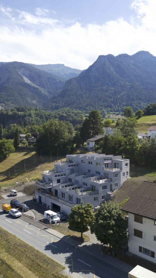 Luftbild © PO4 seiler + den Hartog architekten
