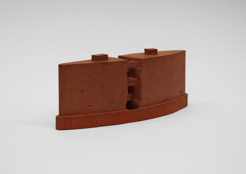 Beton-Modell 1:1000 © Paul Grieguszies und Irma Radoncic