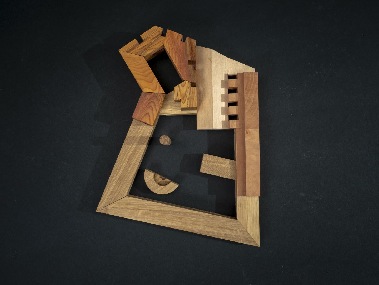 Holzmodell © Quirin Koch