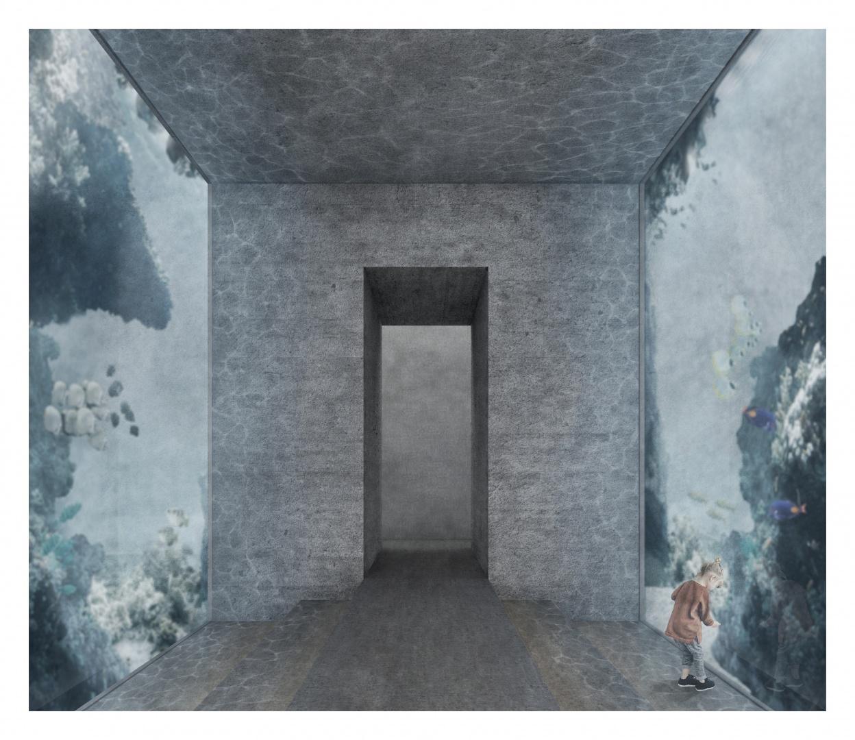 Innenraum Aquarium © Céline Berberat
