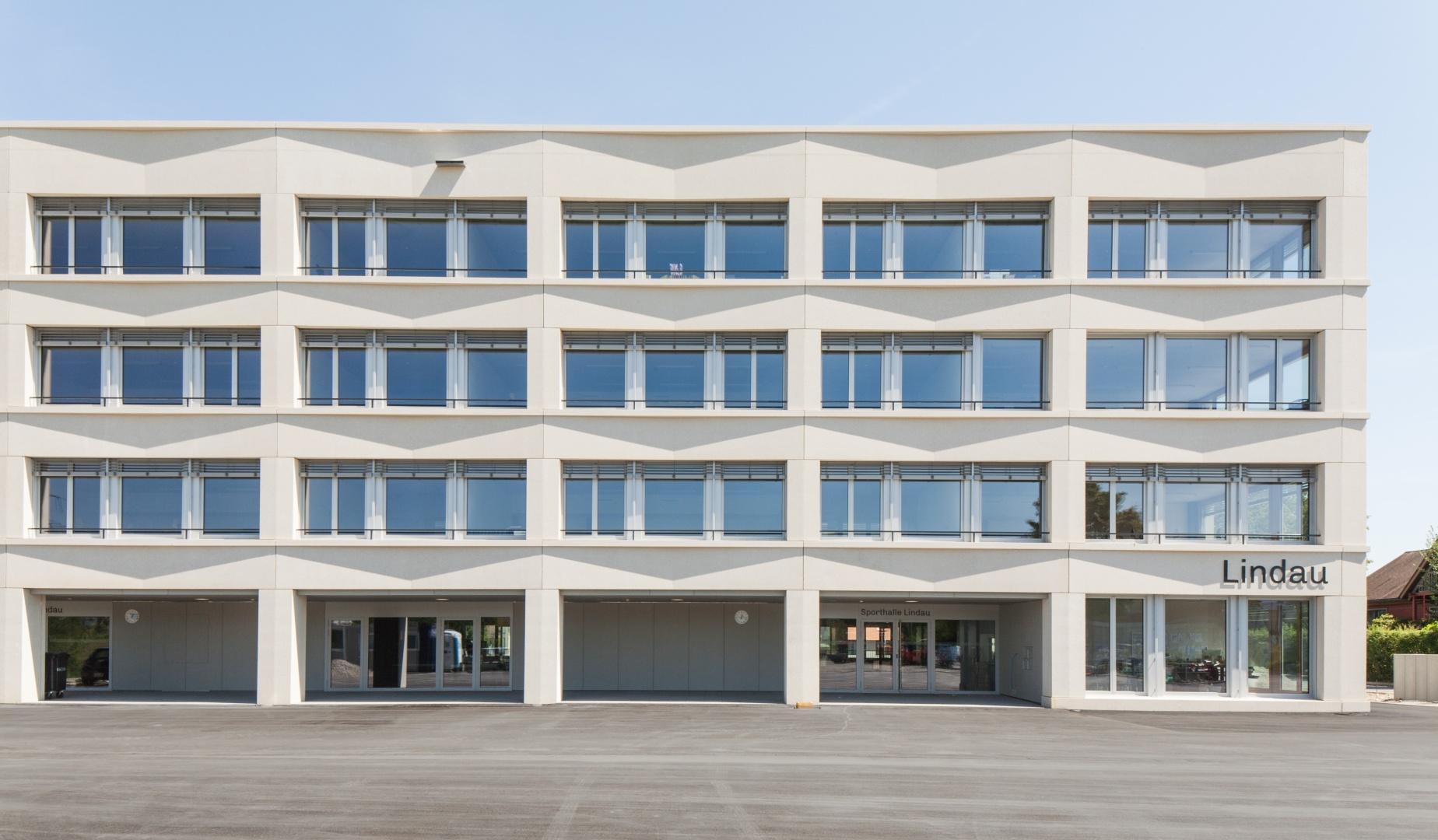 Sekundarschulhaus und sporthalle rothenburg schweizer baudokumentation - Architekten lindau ...