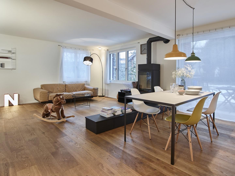 Wohnbereich © Gataric Fotografie