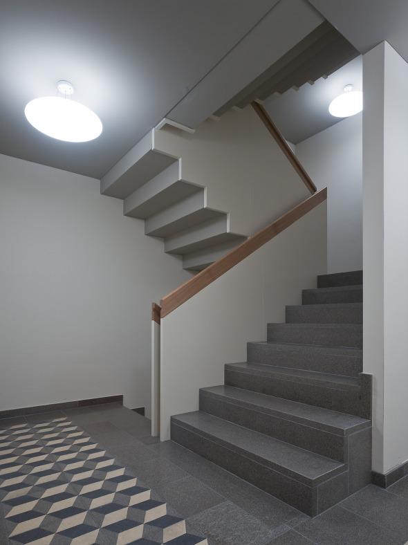 Cage d'escalier © Roger Frei, Zürich