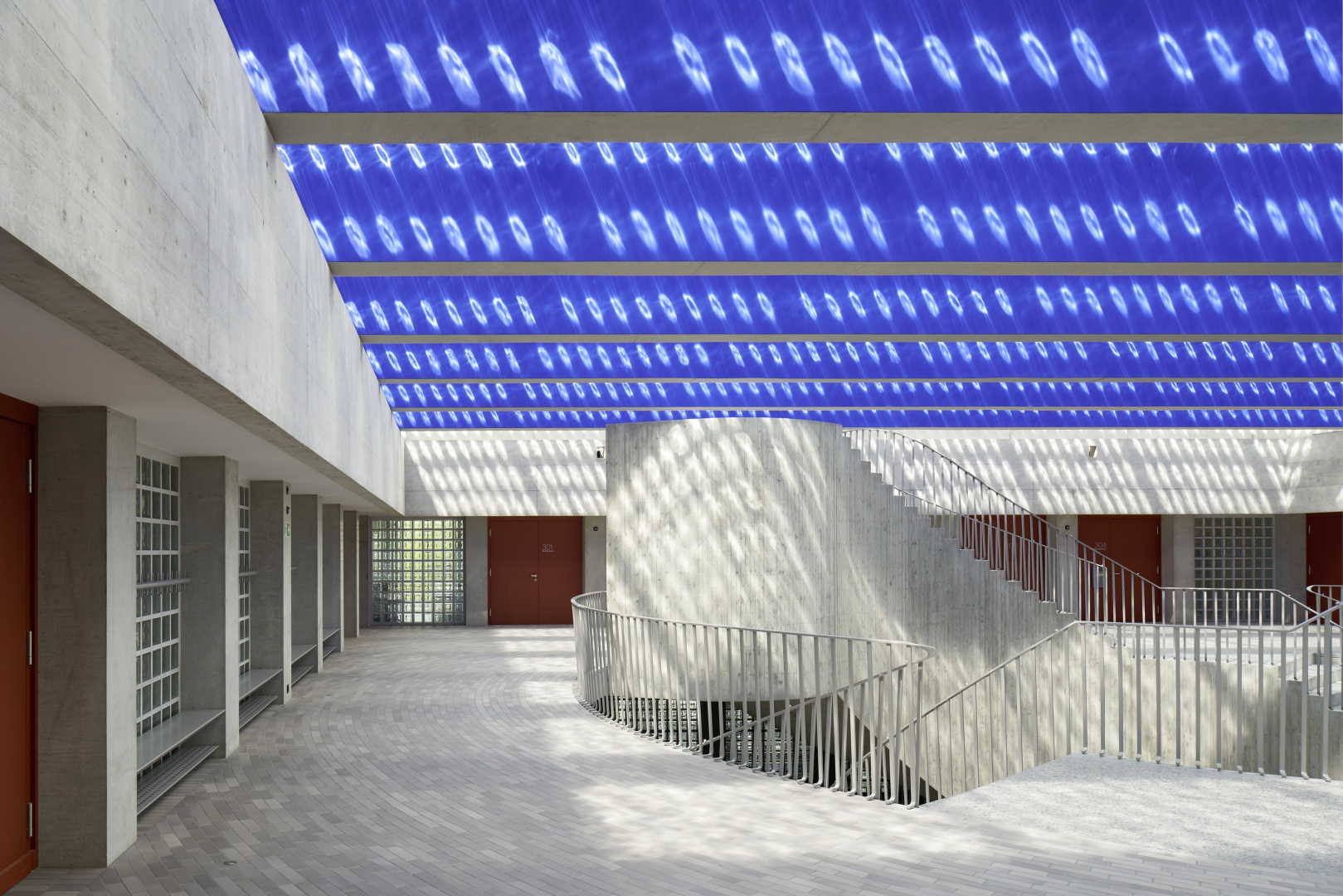 Flur Primarschule Vinci © Ralph Feiner