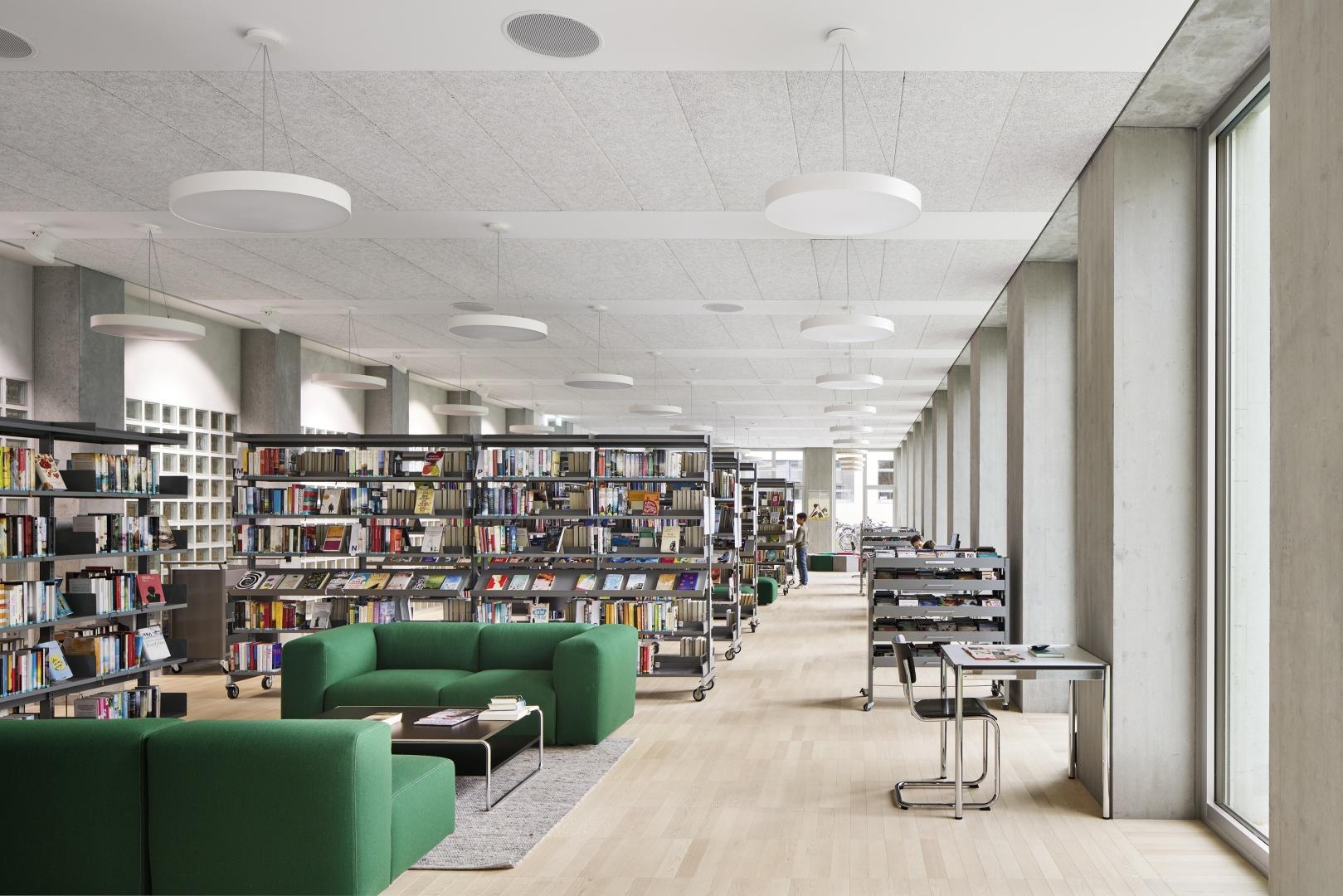 Bibliothek Primarschule Vinci © Ralph Feiner