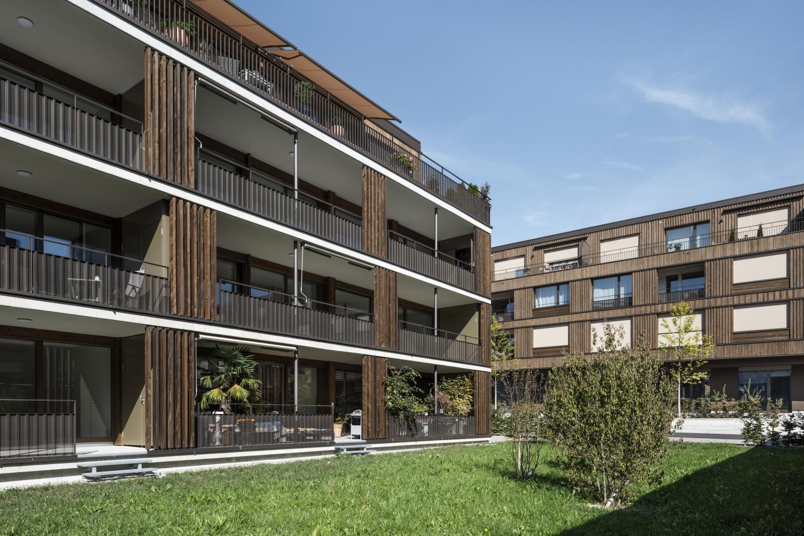 Fassade © Tom Trachsel | Roger Baumer | Manuel Liechti