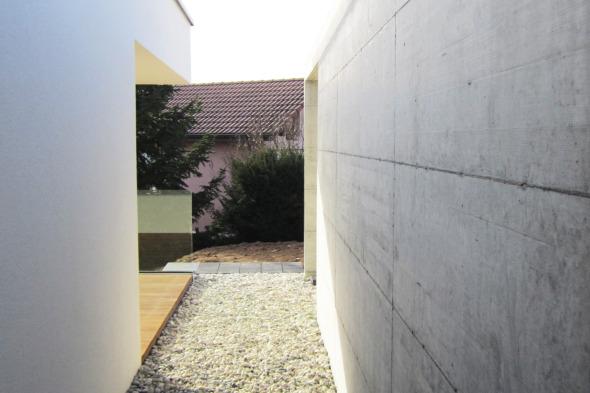 transition couvert/villa © DMart Sàrl