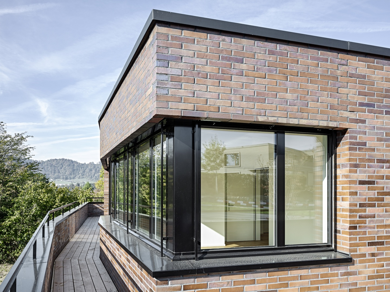 Steinweid, Kilchberg: Terrasse Attika © Fischer Architekten AG / Roger Frei, Binzstrasse 23, 8045 Zürich