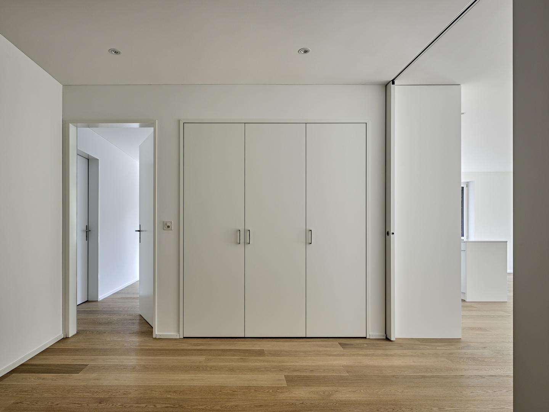 Steinweid, Kilchberg: Korridor EG © Fischer Architekten AG / Roger Frei, Binzstrasse 23, 8045 Zürich