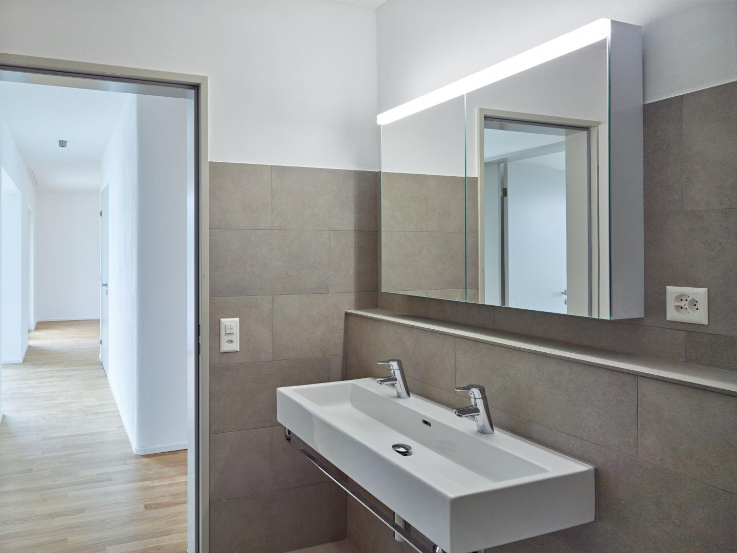 Bad - WC - Umgang © Fotograf: Arnold Kohler