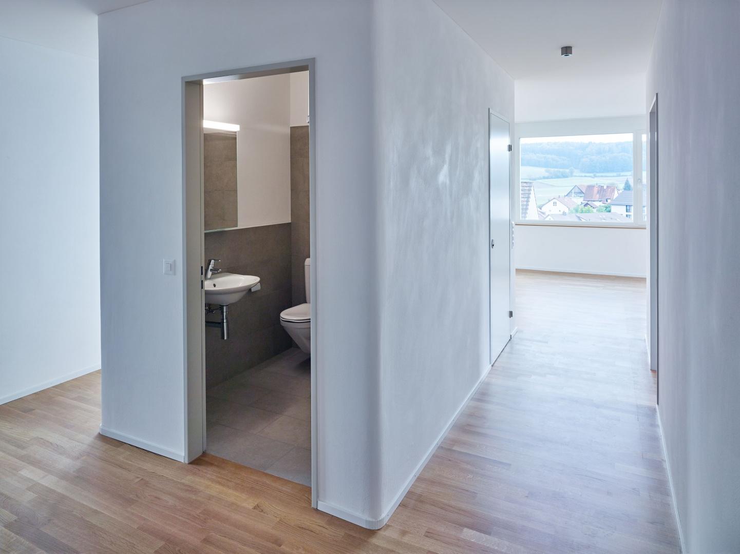 Umgang - WC - Wohnen © Fotograf: Arnold Kohler