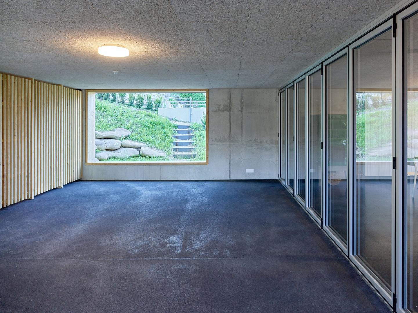 Gedeckter Aussenbereich - Gemeinschaftsraum © Fotograf: Arnold Kohler