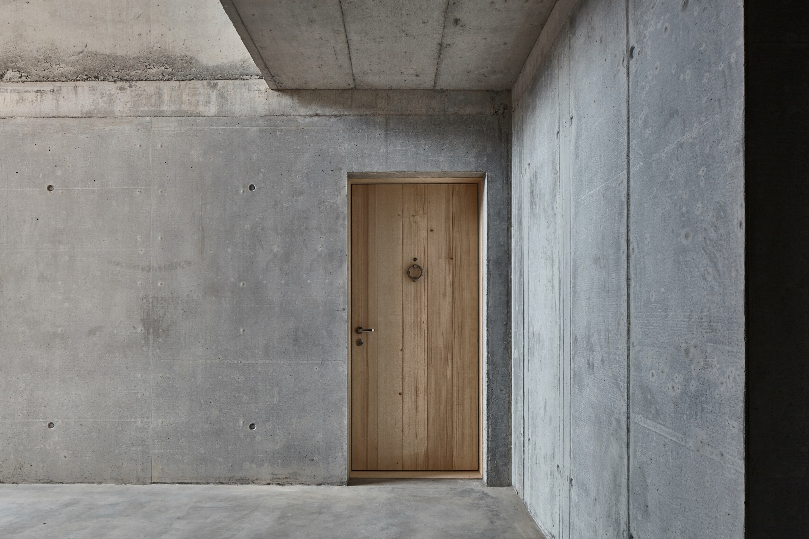Eingang © Mark Drotsky Architekturfotografie