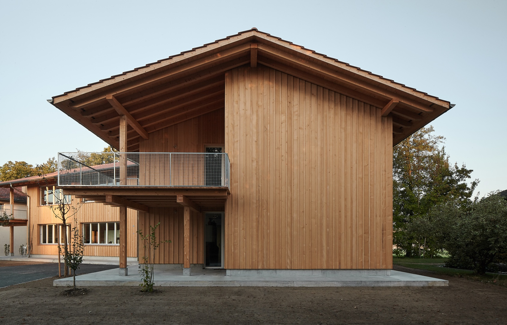 Fassade © Mark Drotsky Architekturfotografie