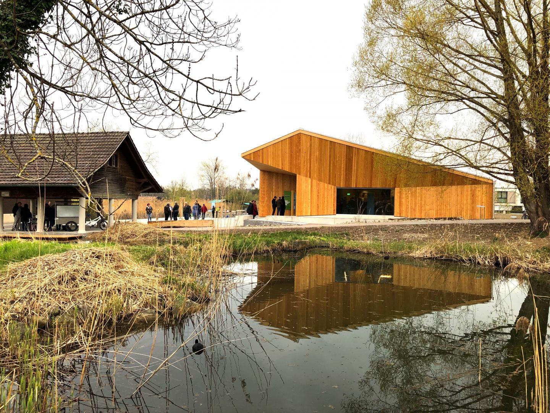 Ostfassade, Eröffnung 10. April 2019 © Kündig Architekten SIA AG
