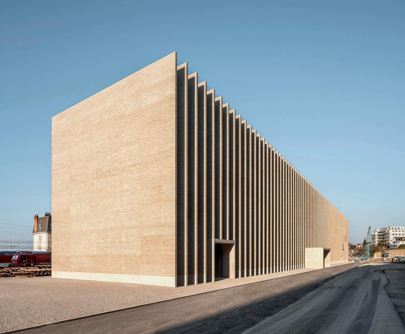 Le nouveau Musée Cantonal des Beaux-Arts (MCBA) de Lausanne. © Matthieu Gafsou