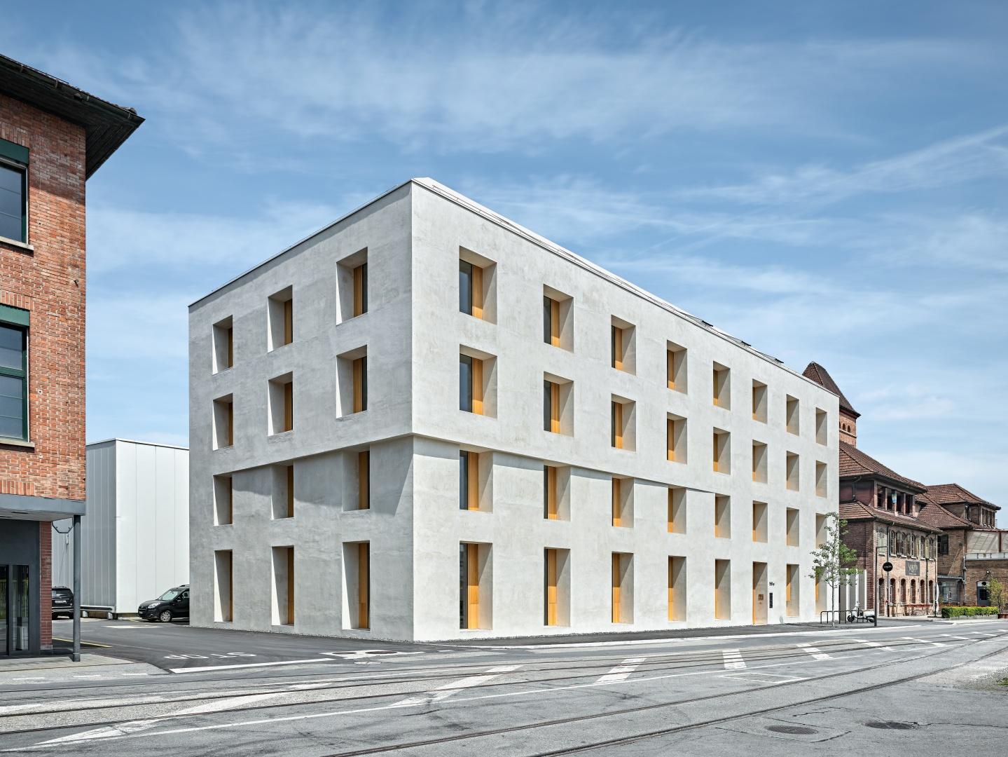 Bürogebäude als Ersatzneubau © Roger Frei