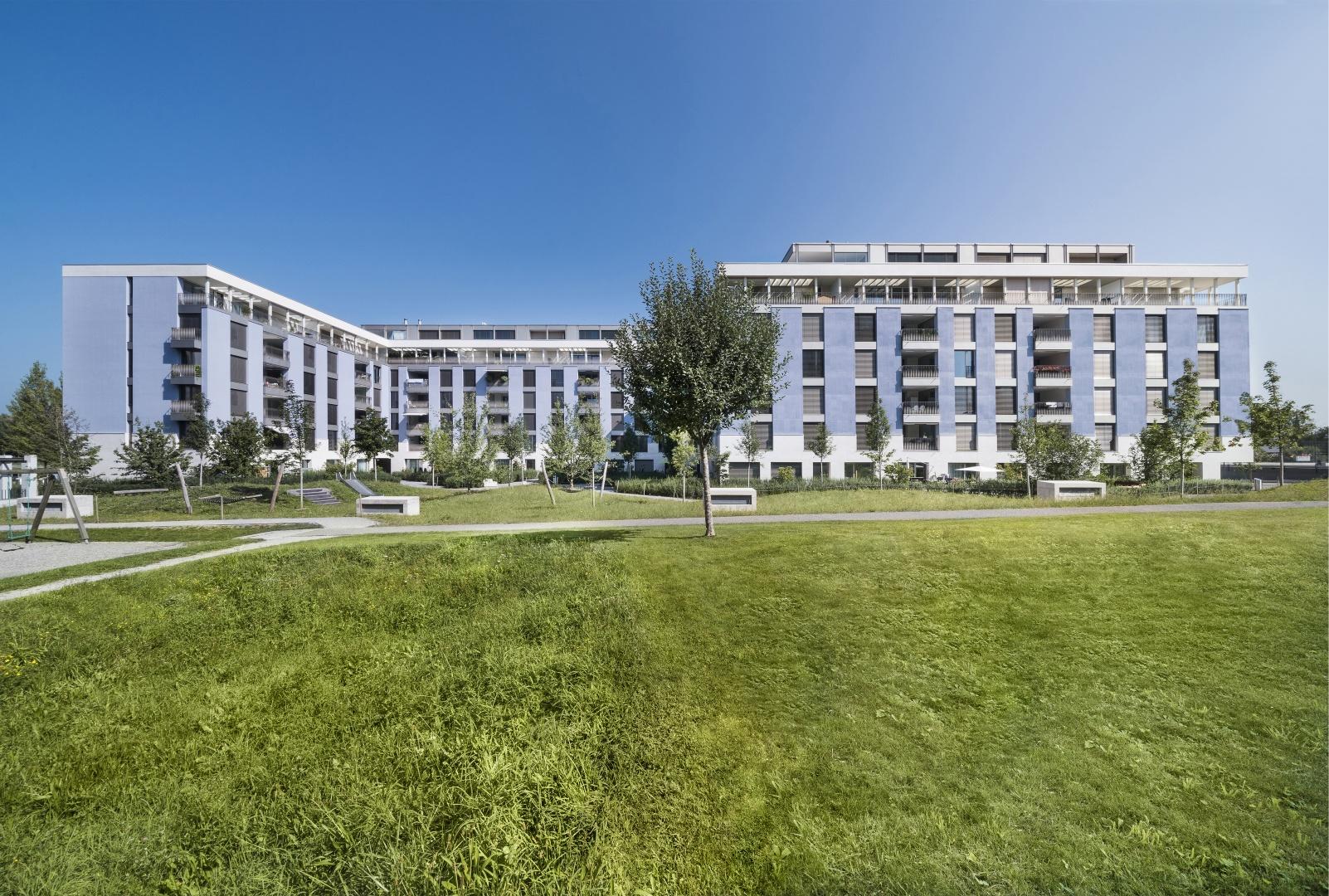 Südfassade hofseitig © KMP Architektur AG, Wettingen