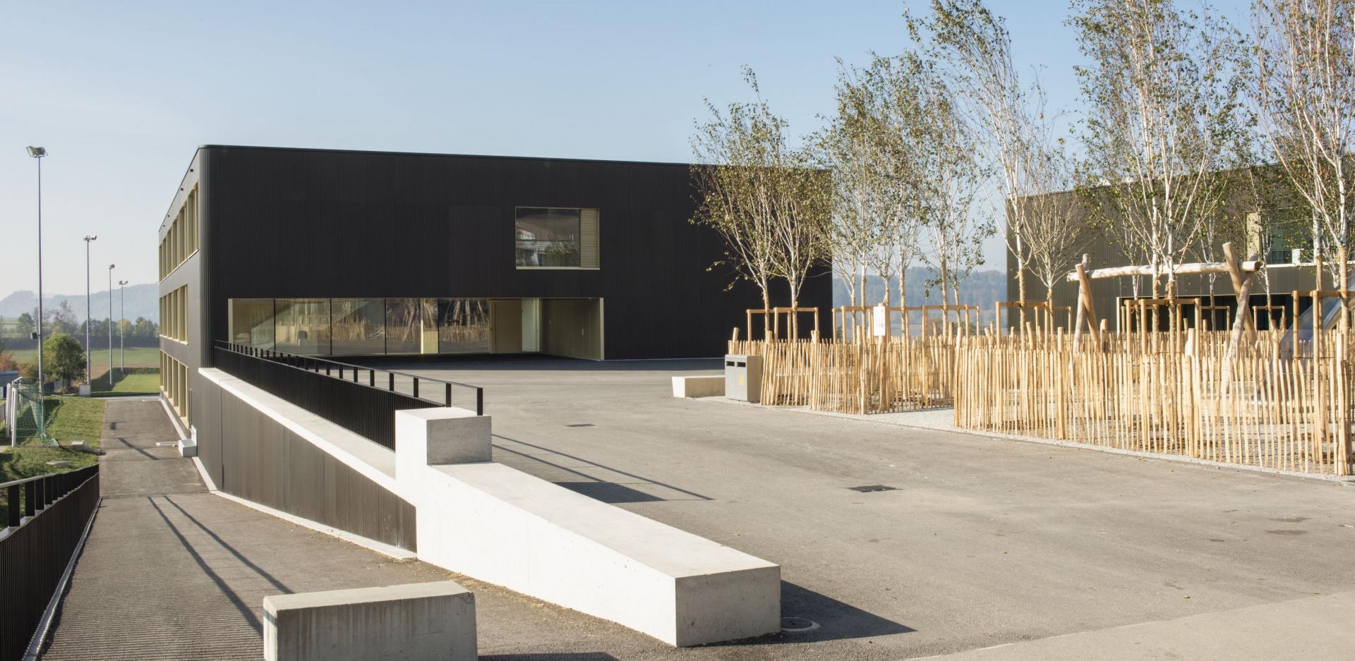 Pausenplatz © Projet et réalisation : Ruffieux-Chehab Architectes SA, Photos : Primula Bosshard