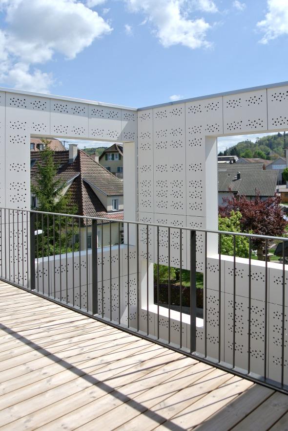 Terrasse Maisonette © raum.werk.plus.