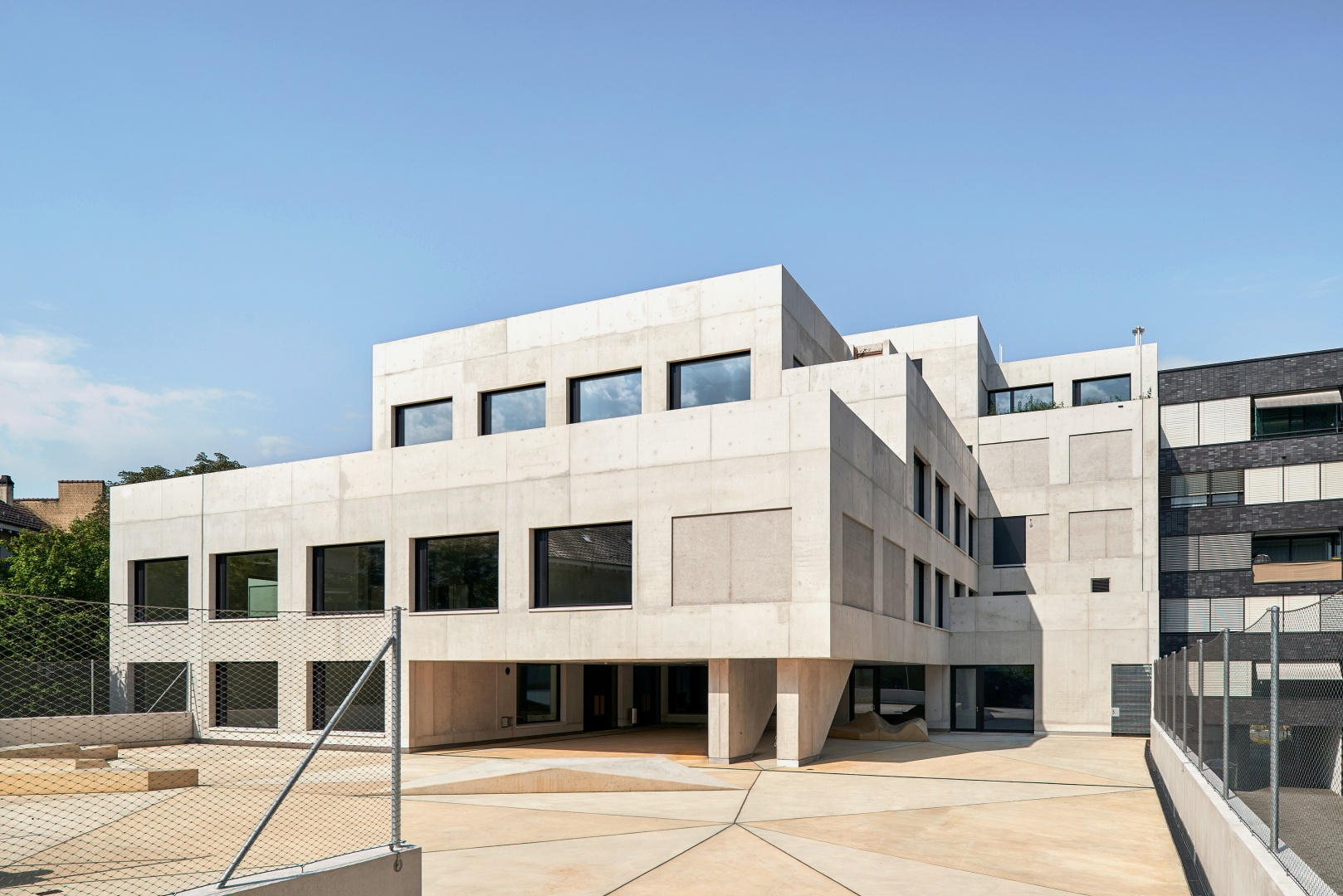 École primaire Erlenmatt, Bâle  © Roman Weyeneth