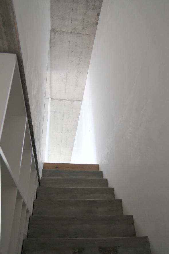 Treppe Dachgeschoss © raum.werk.plus.