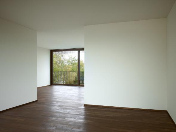 Die Grundrisse sind offen gestaltet © Foto: Ruedi Walti, Basel