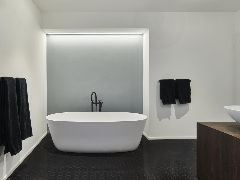 Bad im Obergeschoss © Gataric Fotografie, Flüelastrasse 10, 8048 Zürich