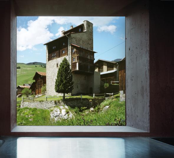 Ausblicke sind gezielt ins Dorf gesetzt © Ruedi Walti, Basel