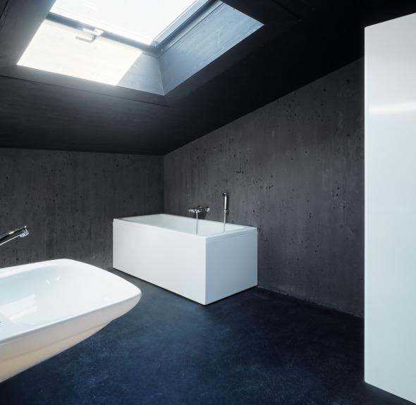 Die Einrichtung ist zurückhaltend und schlicht gestaltet © Ruedi Walti, Basel