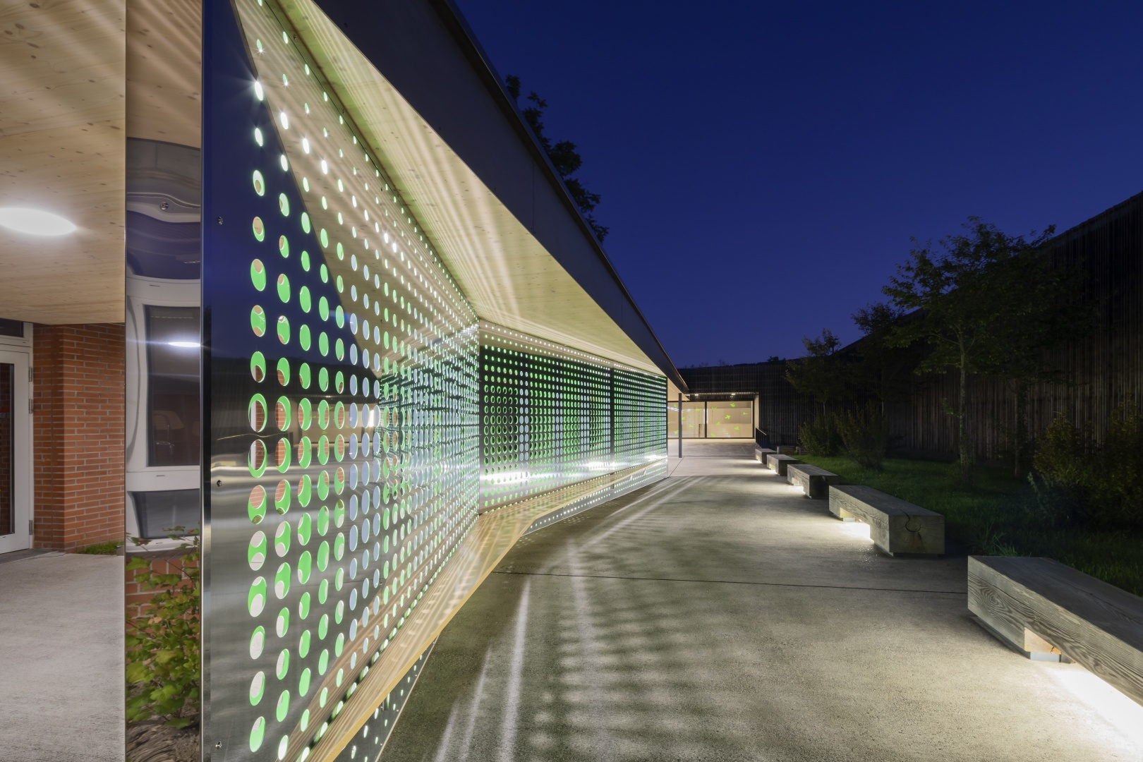 Abend Detail © Fox Wälle Architekten SIA GmbH