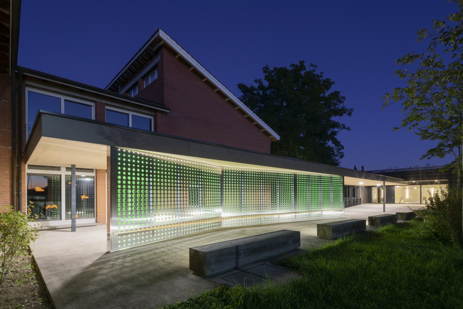 Abend Aussen © Fox Wälle Architekten SIA GmbH