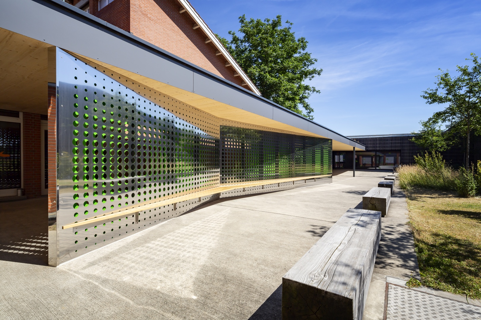 Tag Detail © Fox Wälle Architekten SIA GmbH