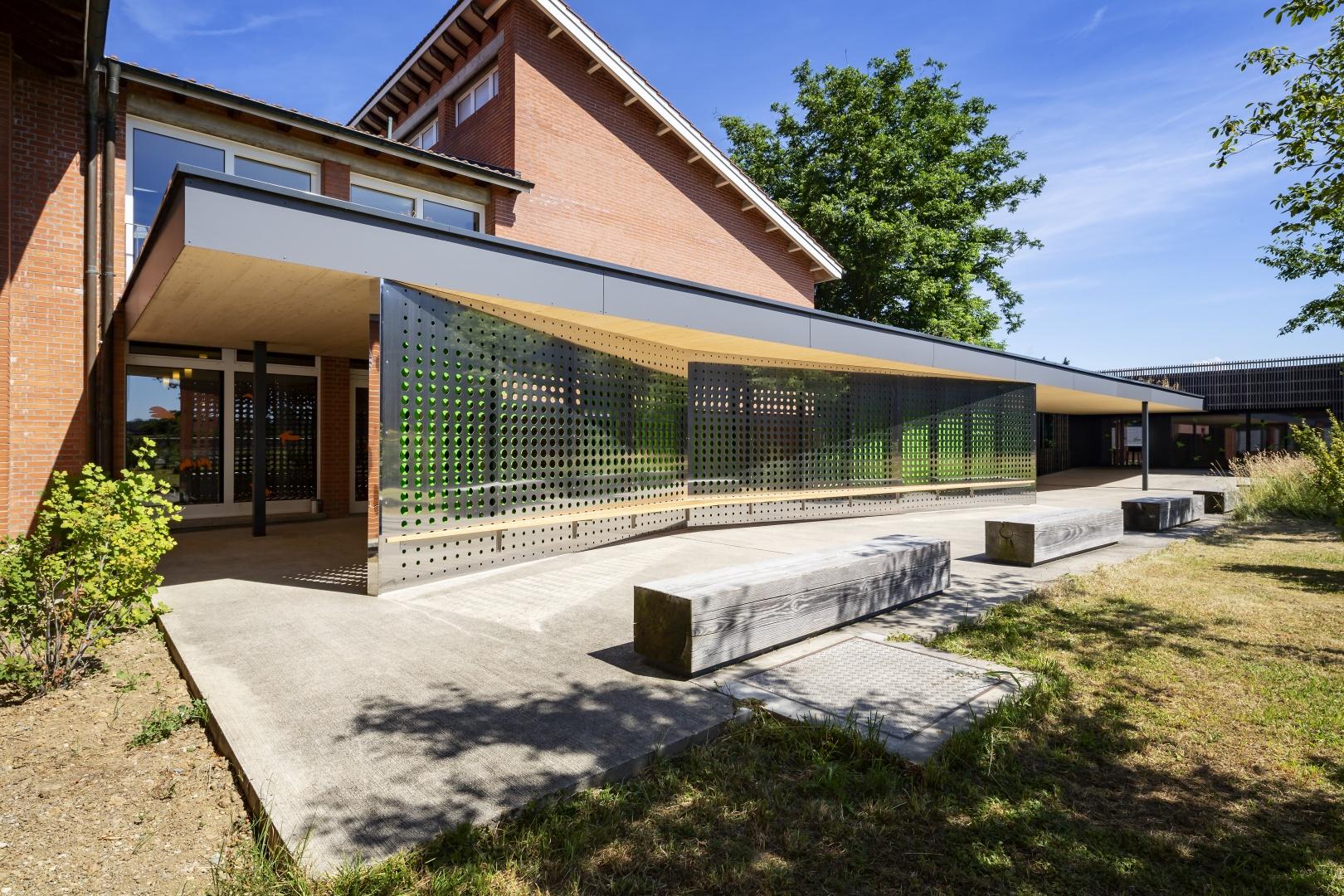 Tag Aussen © Fox Wälle Architekten SIA GmbH