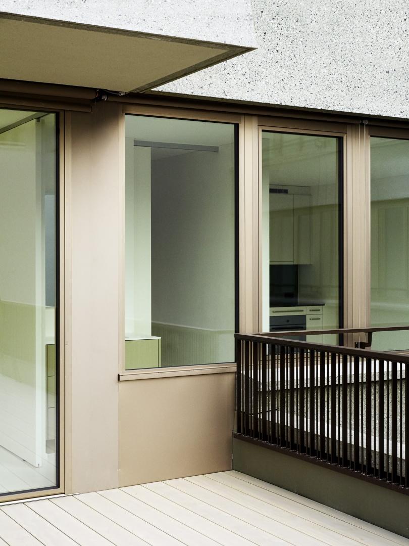 Holzmetallfenster: Bresga Fenster AG, Egnach. © Peter Tillessen