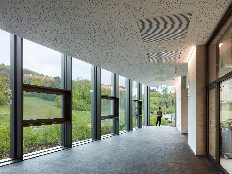 Gleisblick Südende Atrium © Georg Aerni