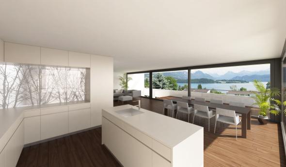Wohnung © Antonietty Architekten AG