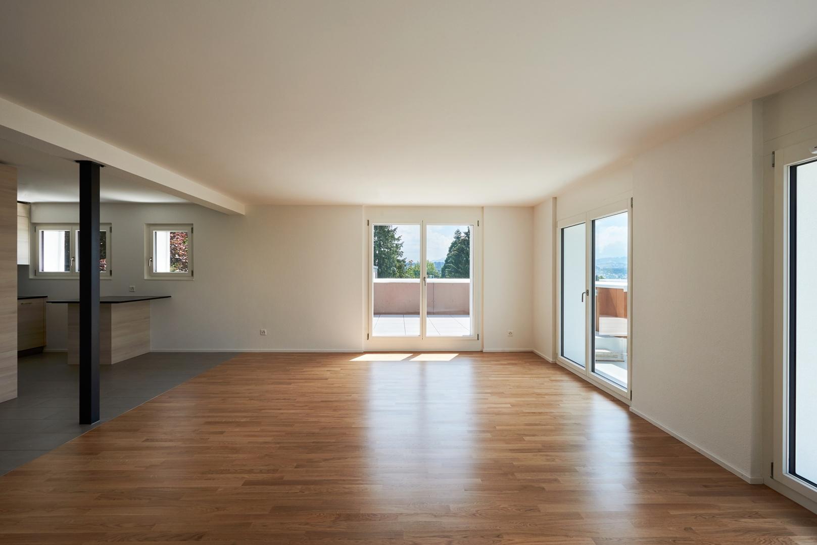 Appartement créé à l'étage © Corinne Cuendet, Clarens