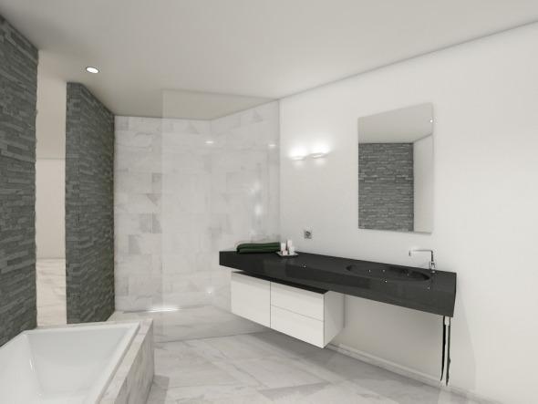 Wohnungsbad © Antonietty Architekten AG