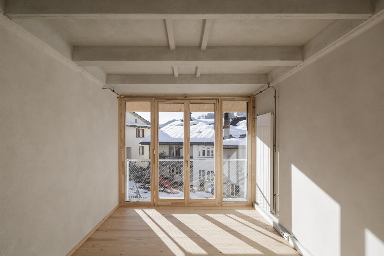 Chambre © moos giuliani herrmann architekten, silvano pedrett