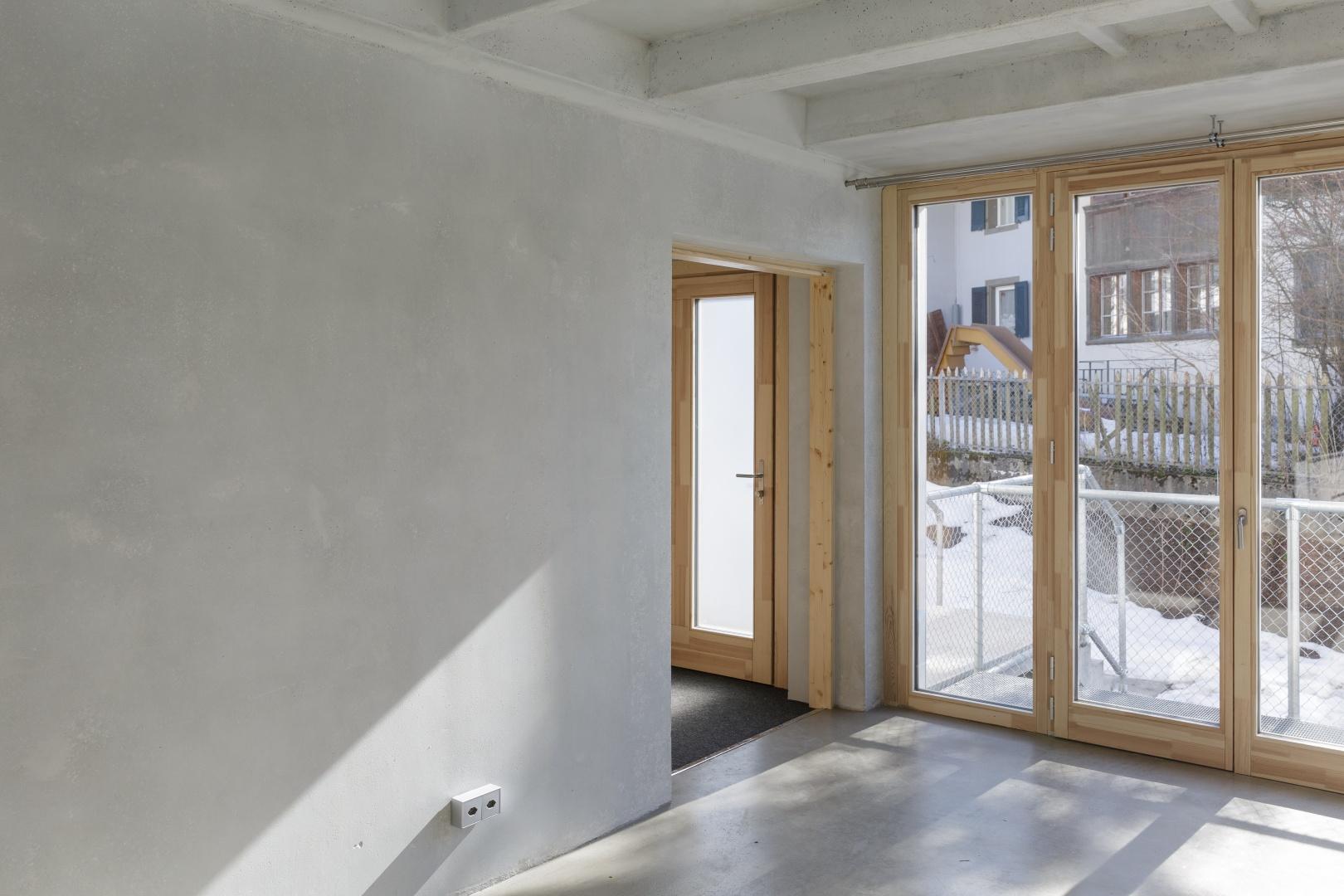 Entrée © moos giuliani herrmann architekten, silvano pedrett