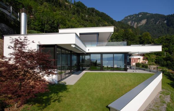 Jardin, façade ouset © Antonietty Architekten AG