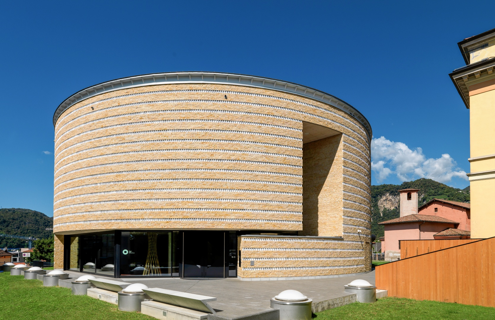 Teatro dell'Architettura, Mendriso © Enrico Cano