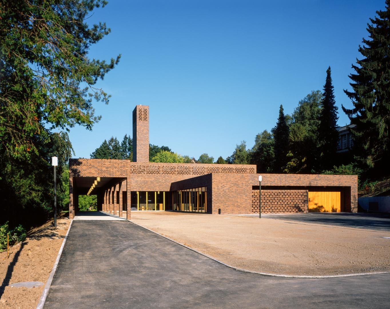 Krematorium Feldli, St.Gallen © Hélène Binet