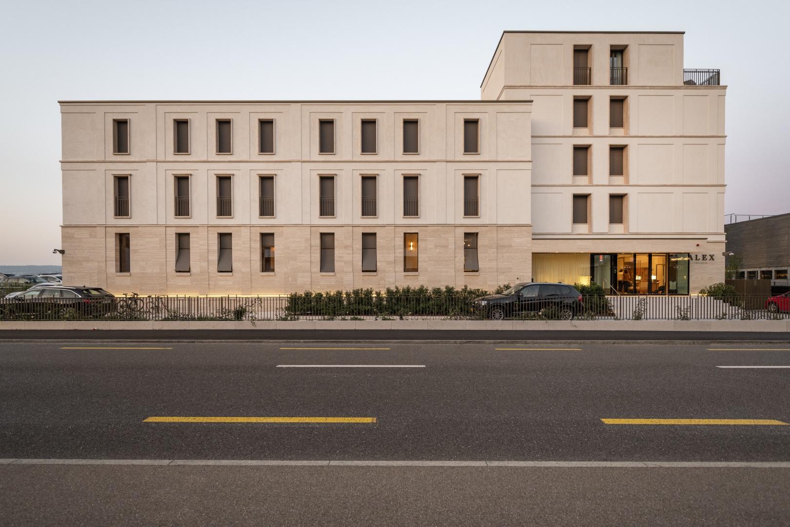 Fassade Strassenseite © Rob Lewis Photography, Wasserwerkgasse 29, 3011 Bern