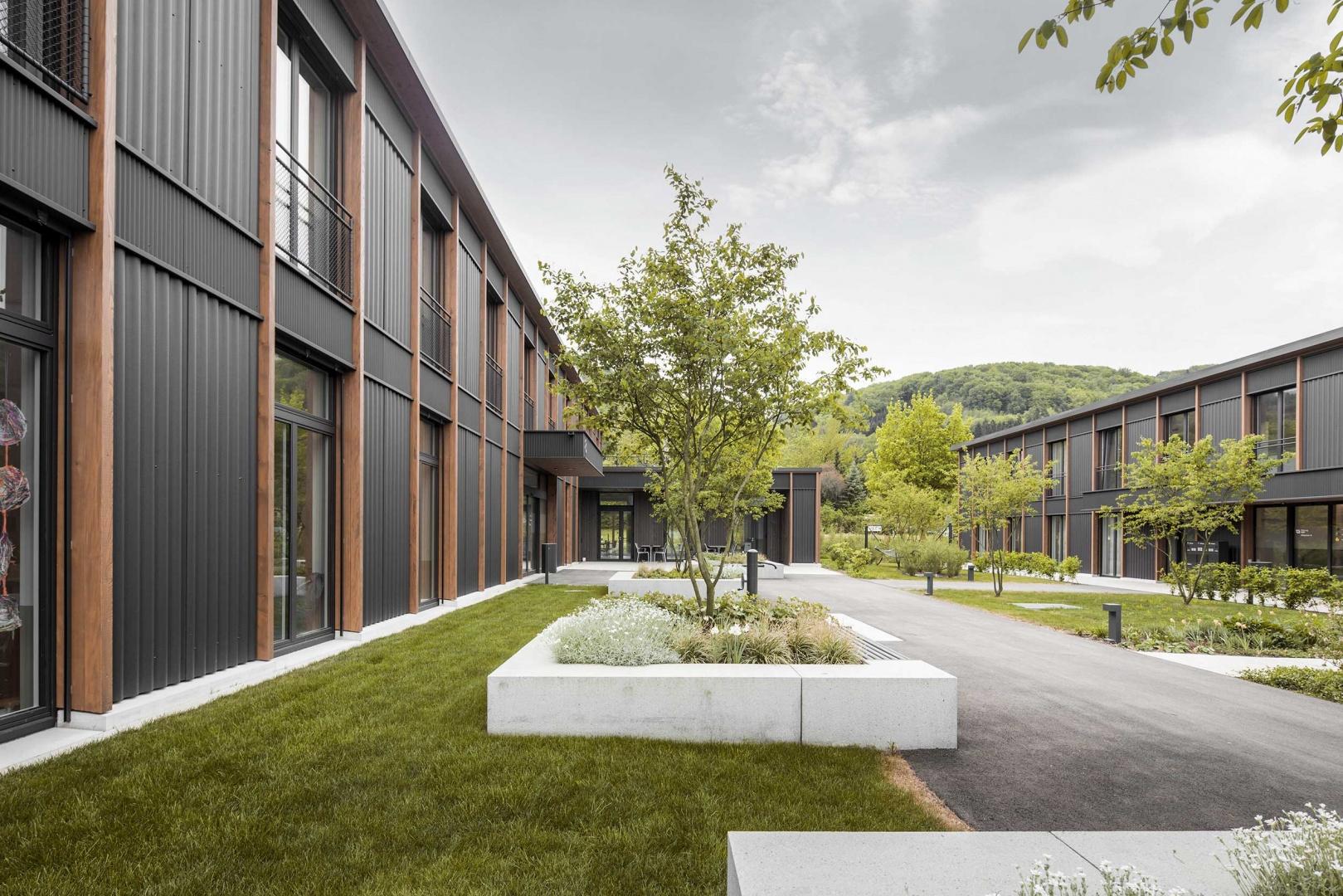 Blick in den Gartenhof © Schmid Ziörjen Architektenkollektiv
