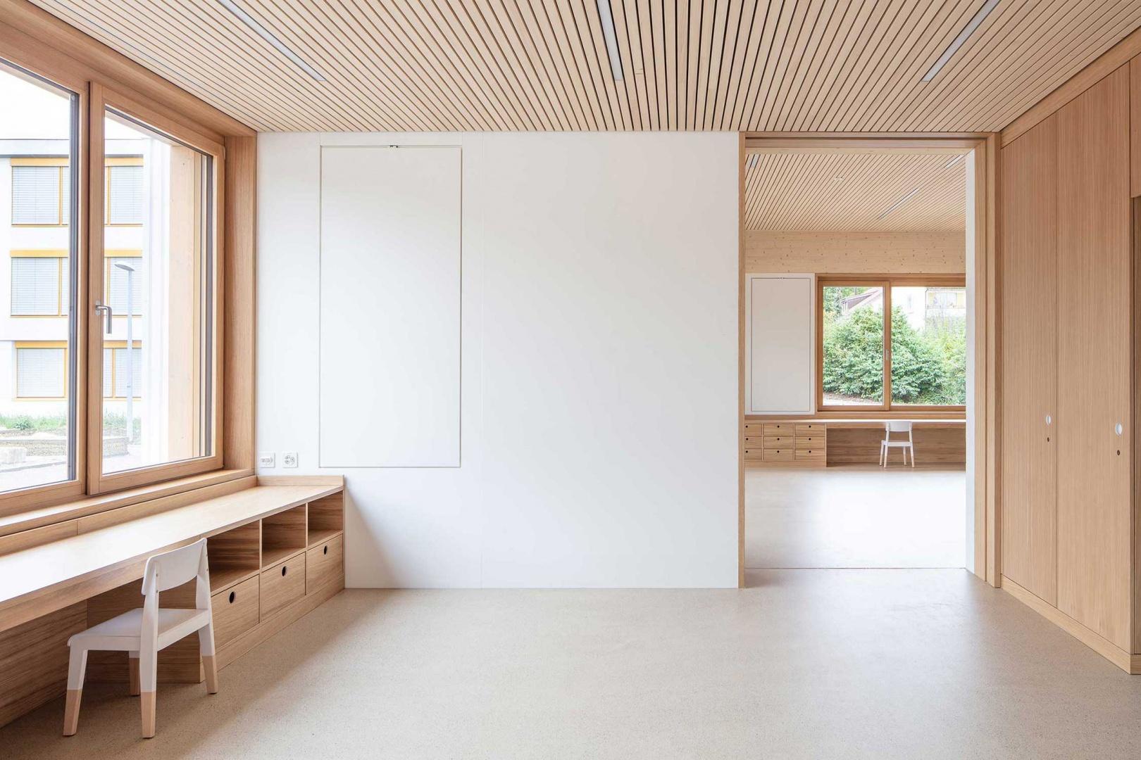 Gruppenraum mit Blick in den Hauptraum © Radek Brunecky