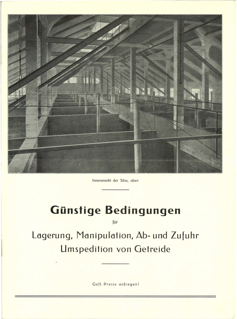 Originalzustand © Originalprospekt der Basler Lagerhausgesellschaft